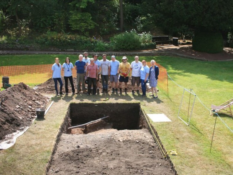 Shrewsbury Castle Excavation Team