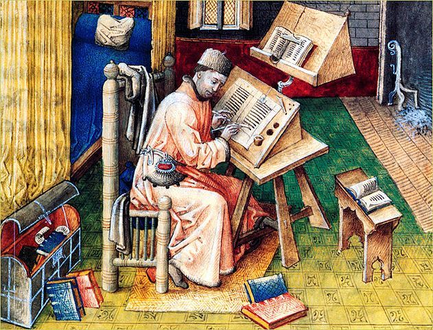 medieval letters-writing